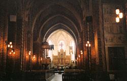 Strängnäs, a katedrális belseje