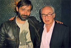 Baltazar Kormakur (b) és a szerző (j)