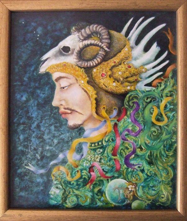Szigeti Szabó János festménye