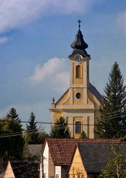 Szent István király templom Babarc