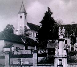 Szent Őrangyalok temploma, Magyarszék