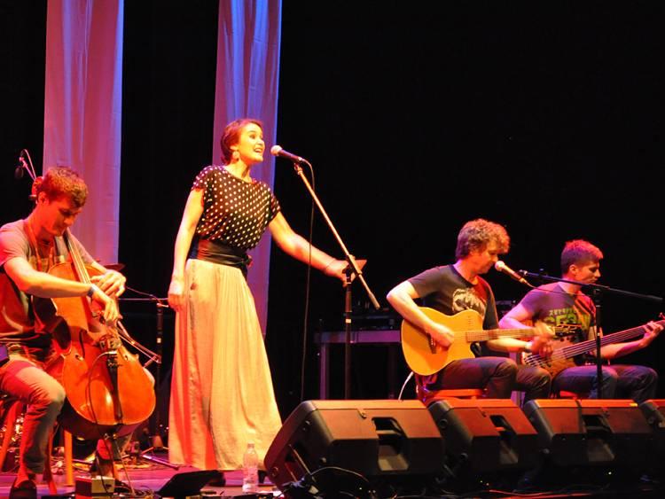 Tompos Kátya - Keresztül Európán lemezbemutató koncert