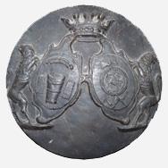 Krautzak János György címere a síremlékről