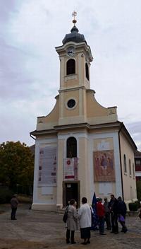 Xavéri Szent Ferenc templom homlokzata
