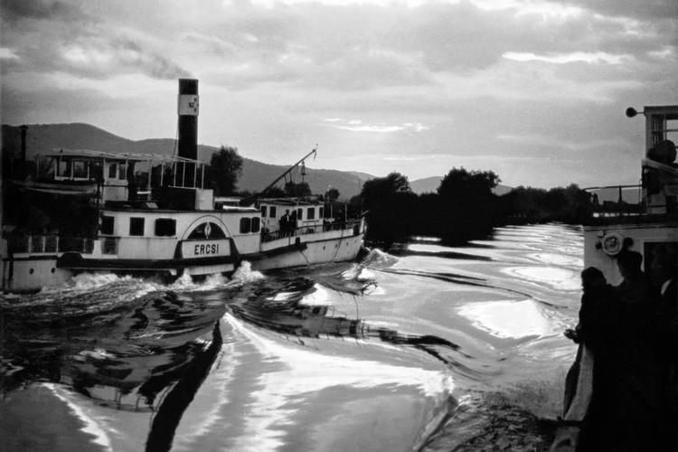 Ercsi. Visegrád, Hungary, 1952.