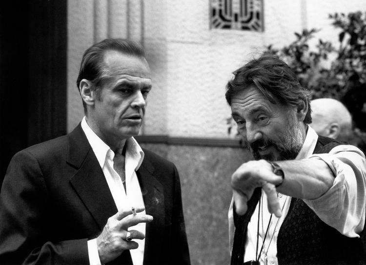 The Two Jakes w/ Jack Nicholson, 1989.