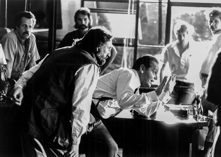The Two Jakes w/ Jack Nicholson, 1989, fotó/photo: Elliot Marks