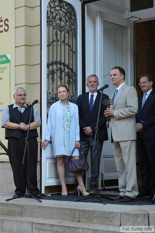 Megnyitó - Stenczer Béla, Udvaros Dorottya, Dr. Páva Zsolt, Rázga Miklós, Dr. Hoppál Péter