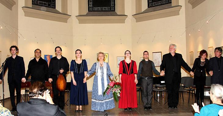 A koncert résztvevői