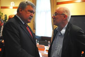 Csányi Sándor és Szarvas István