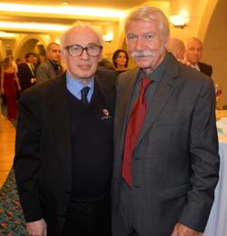 Károlyi Béla (j) és a szerző