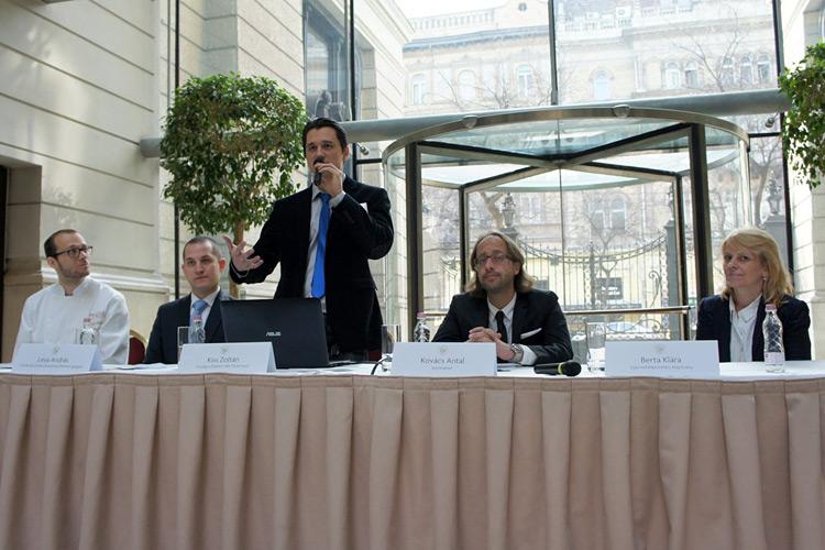 A képen balról jobbra Olvedy Balázs, Lexa András Kiss Zoltán Kovács Antal Berta Klára Fotó: Lantai József