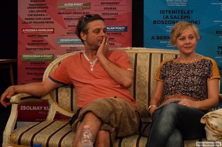 Szakmai beszélgetés: A vágy villamosa (PNSZ) Köles Ferenc (Stanley), Darabont Mikold (Blanche) (június 16.)