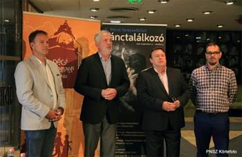 Rázga Miklós, Dr. Páva Zsolt, Gulyás Dénes, Vincze Balázs Fotó: Körtvélyesi László
