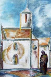Nőt Béla festménye